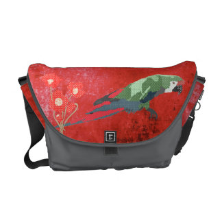A bolsa mensageiro majestosa do Macaw