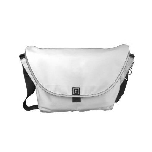 Pequeno Messenger Bag Impressão Fora