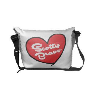 A bolsa mensageiro pequena do bravo de Scotty