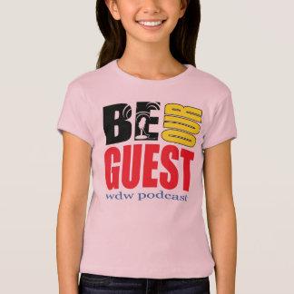 A boneca das meninas seja nosso t-shirt do Podcast Camiseta