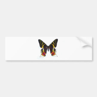 A borboleta a mais beautuiful no mundo adesivo para carro