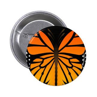 A borboleta beija o design gráfico do anjo floral boton