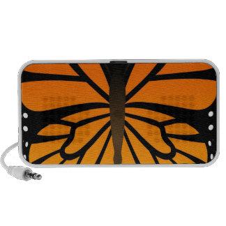 A borboleta beija o design gráfico do anjo floral caixinhas de som portátil