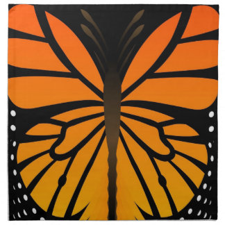 A borboleta beija o design gráfico do anjo floral guardanapo impresso