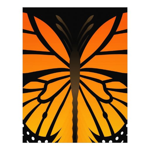 A borboleta beija o design gráfico do anjo floral papeis de carta personalizados