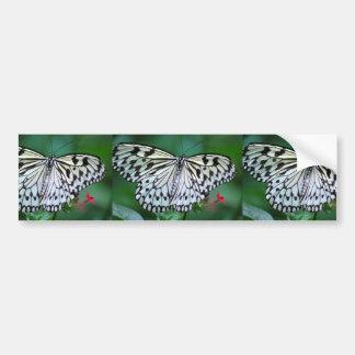 A borboleta branca adesivos
