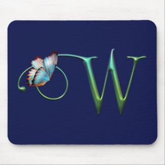 A borboleta sonha W Mousepad