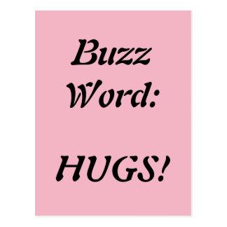 A buzzword abraça o cartão