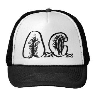 A.C. - chapéu do logotipo Boné