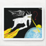A cabra do espaço mousepad