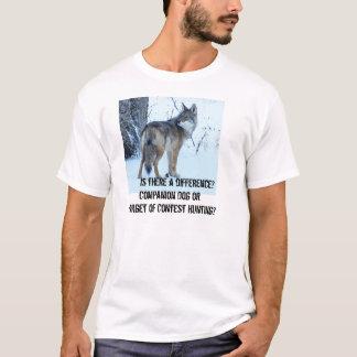 A caça da competição do chacal deve ser proibida camiseta