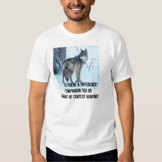 A caça da competição do chacal deve ser proibida camisetas