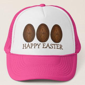 A caça do ovo de chocolate do felz pascoa Eggs o Boné