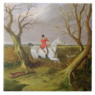 A caça do Suffolk - partida (óleo em canvas)