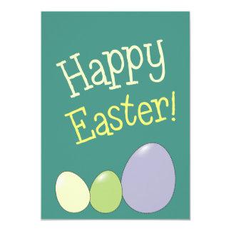 A caça Pastel dos ovos dos convites da páscoa