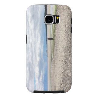 A caixa da galáxia S6 de Samsung da distância Capas Samsung Galaxy S6