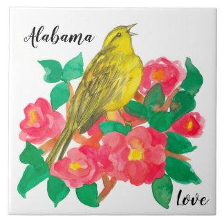 A camélia de Yellowhammer floresce o amor de