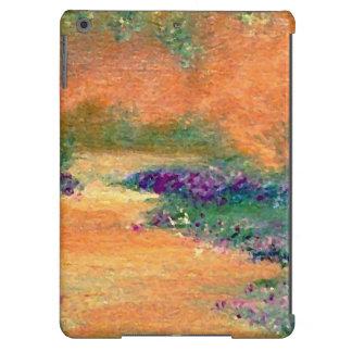 A caminhada floral do jardim do olhar do vintage capa para iPad air