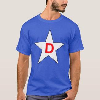 A camisa #2 do gêmeo patriótico