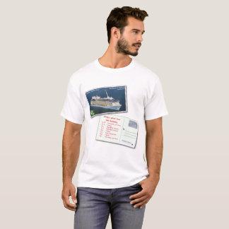 A camisa 2-Sided customizável dos homens