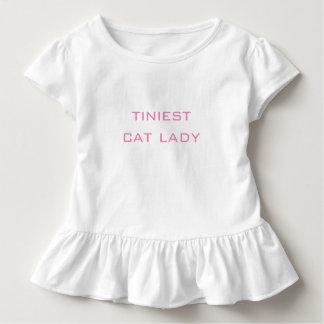 A camisa a mais minúscula da senhora Bebê Superior