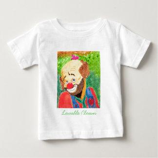 A camisa adorável da criança do palhaço