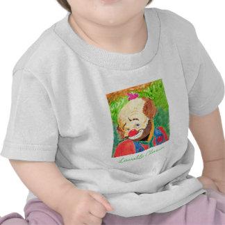 A camisa adorável da criança do palhaço camisetas