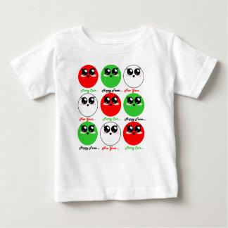 A camisa alegre bonito Kawaii dos feriados