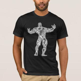 A camisa arrepiante do músculo