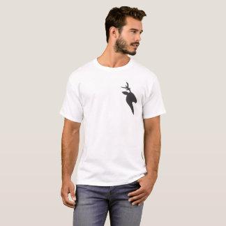 a camisa branca básica dos homens pretos dos