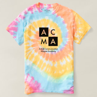 A camisa brilhante da Laço-Tintura ACMA