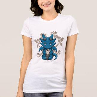 A camisa cabida das mulheres do dragão dos dados