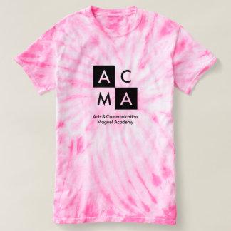A camisa cor-de-rosa da Laço-Tintura ACMA