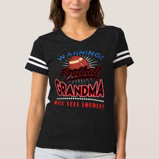 A camisa da avó do futebol, avó gritará alta