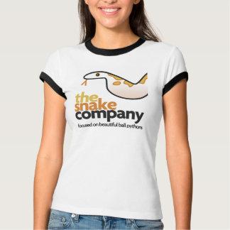 A camisa da empresa do cobra para mulheres