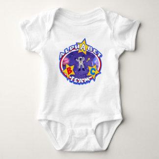 A camisa da equipe do alfabeto t-shirts