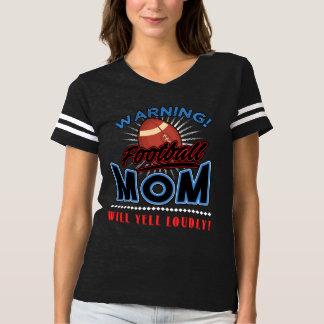 A camisa da mamã do futebol, mamã gritará alta