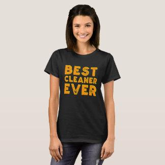 A camisa da melhor mulher do líquido de limpeza
