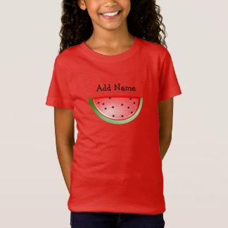 A camisa da menina conhecida personalizada da