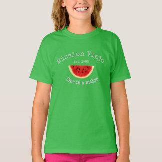 A camisa da menina de Mission Viejo Califórnia