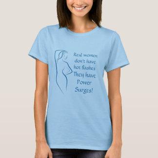 A camisa da menopausa - impulso de poder!