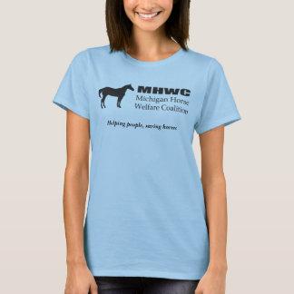 A camisa da mulher de MHWC