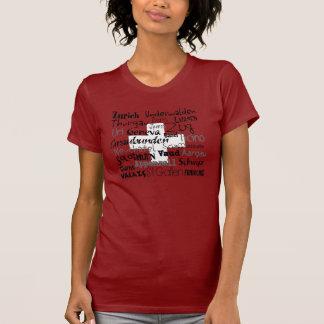 A camisa da mulher dos cantões suíços