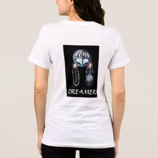 A camisa da mulher original do sonhador da arte