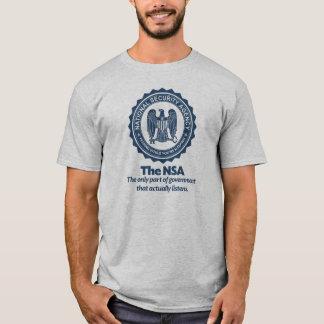 Camiseta A camisa da paródia do NSA