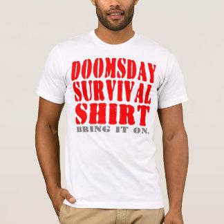 A camisa da sobrevivência do dia do julgamento