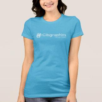 A camisa das mulheres - Cibgraphics no azul