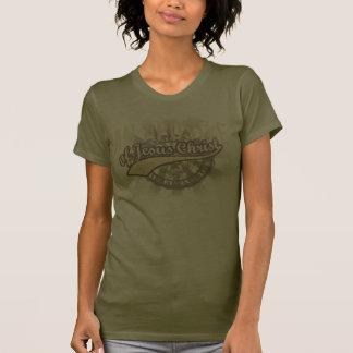 A camisa das mulheres cristãs um apóstolo do Jesus T-shirt