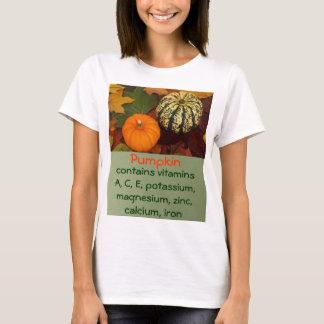 a camisa das mulheres da abóbora camisetas