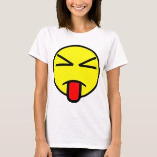 A camisa das mulheres da cara do Sass